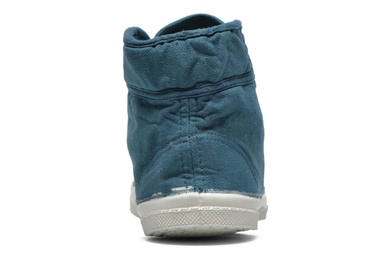 Sneaker Bensimon Tennis Mid E blau ansicht von rechts