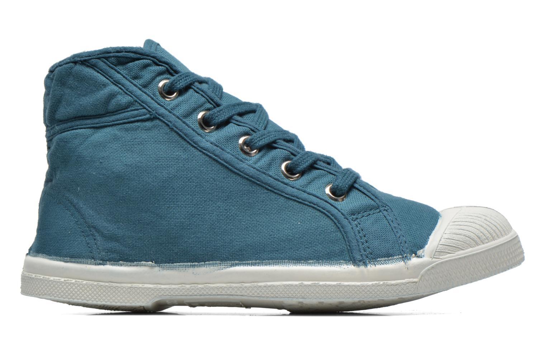 Sneaker Bensimon Tennis Mid E blau ansicht von hinten