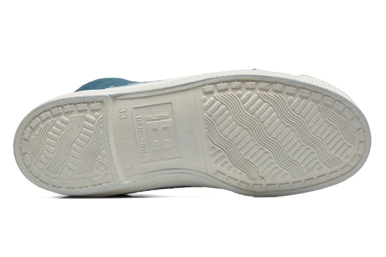 Sneaker Bensimon Tennis Mid E blau ansicht von oben