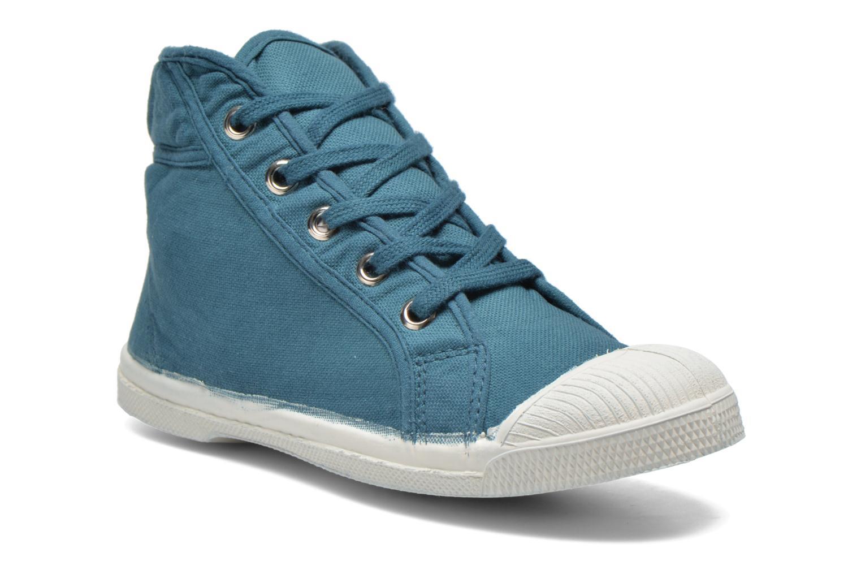Sneaker Bensimon Tennis Mid E blau detaillierte ansicht/modell