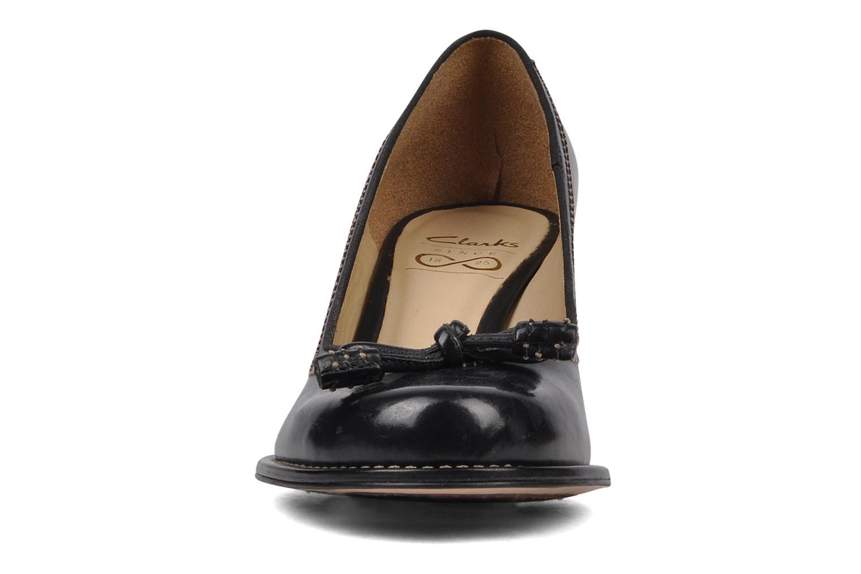 Escarpins Clarks Bombay Lights Noir vue portées chaussures