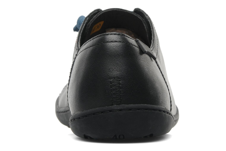 Chaussures à lacets Camper Peu Cami 17665 Noir vue droite