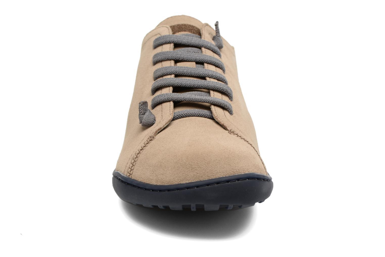 Chaussures à lacets Camper Peu Cami 17665 Beige vue portées chaussures