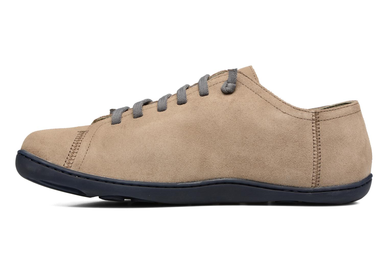 Chaussures à lacets Camper Peu Cami 17665 Beige vue face