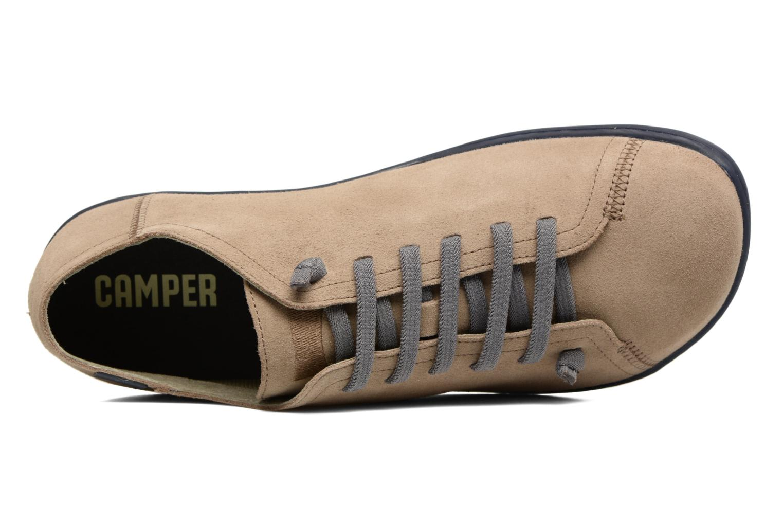 Chaussures à lacets Camper Peu Cami 17665 Beige vue gauche