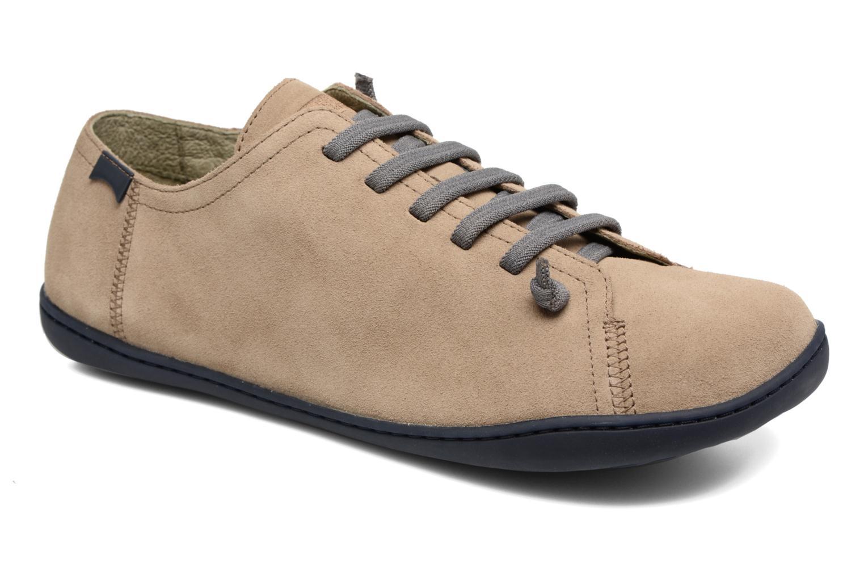 Snøresko Camper Peu Cami 17665 Beige detaljeret billede af skoene