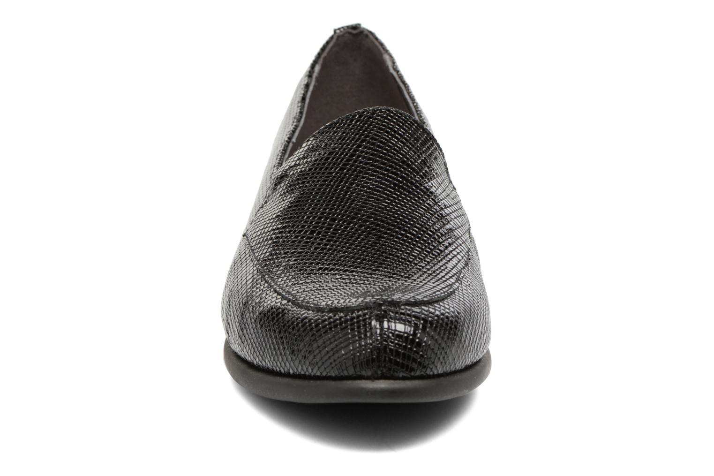 Mocassins Aerosoles Step By Step Noir vue portées chaussures