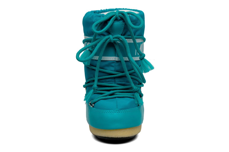 Chaussures de sport Moon Boot Moon Boot Nylon Bleu vue portées chaussures