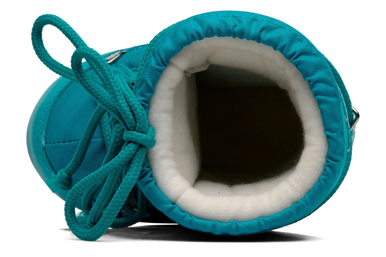 Chaussures de sport Moon Boot Moon Boot Nylon Bleu vue gauche