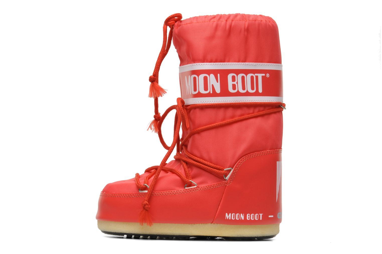 Chaussures de sport Moon Boot Moon Boot Nylon Rouge vue face