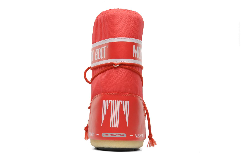 Chaussures de sport Moon Boot Moon Boot Nylon Rouge vue droite