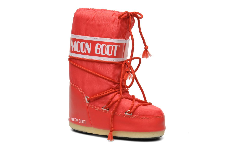 Chaussures de sport Moon Boot Moon Boot Nylon Rouge vue détail/paire