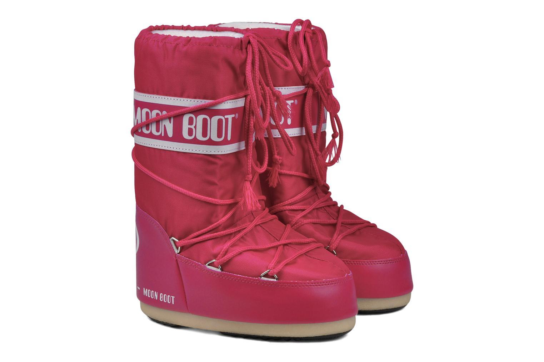 Chaussures de sport Moon Boot Moon Boot Nylon Rose vue 3/4
