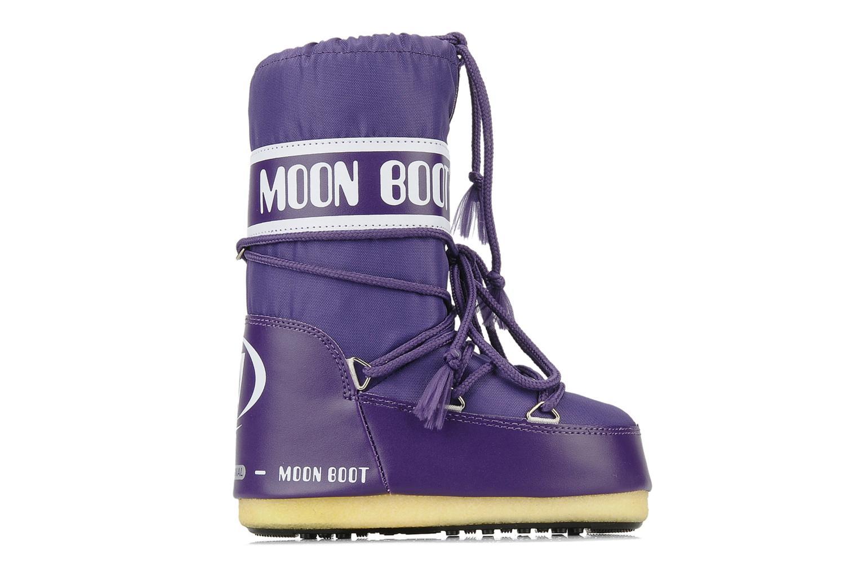 Sportschuhe Moon Boot Moon Boot Nylon E lila ansicht von hinten