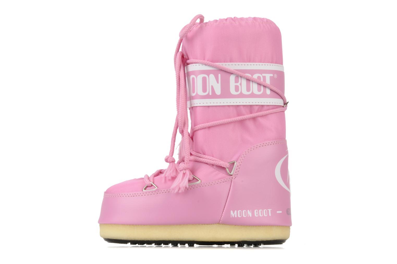Sportschuhe Moon Boot Moon Boot Nylon E rosa ansicht von vorne