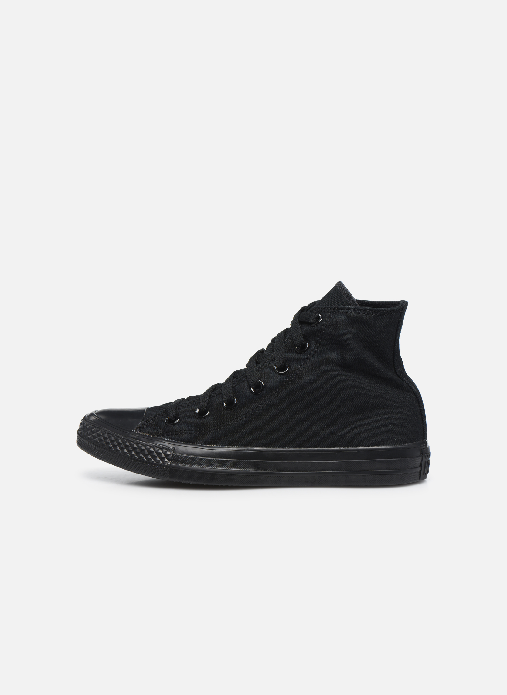 Sneakers Converse Chuck Taylor All Star Monochrome Canvas Hi W Zwart voorkant