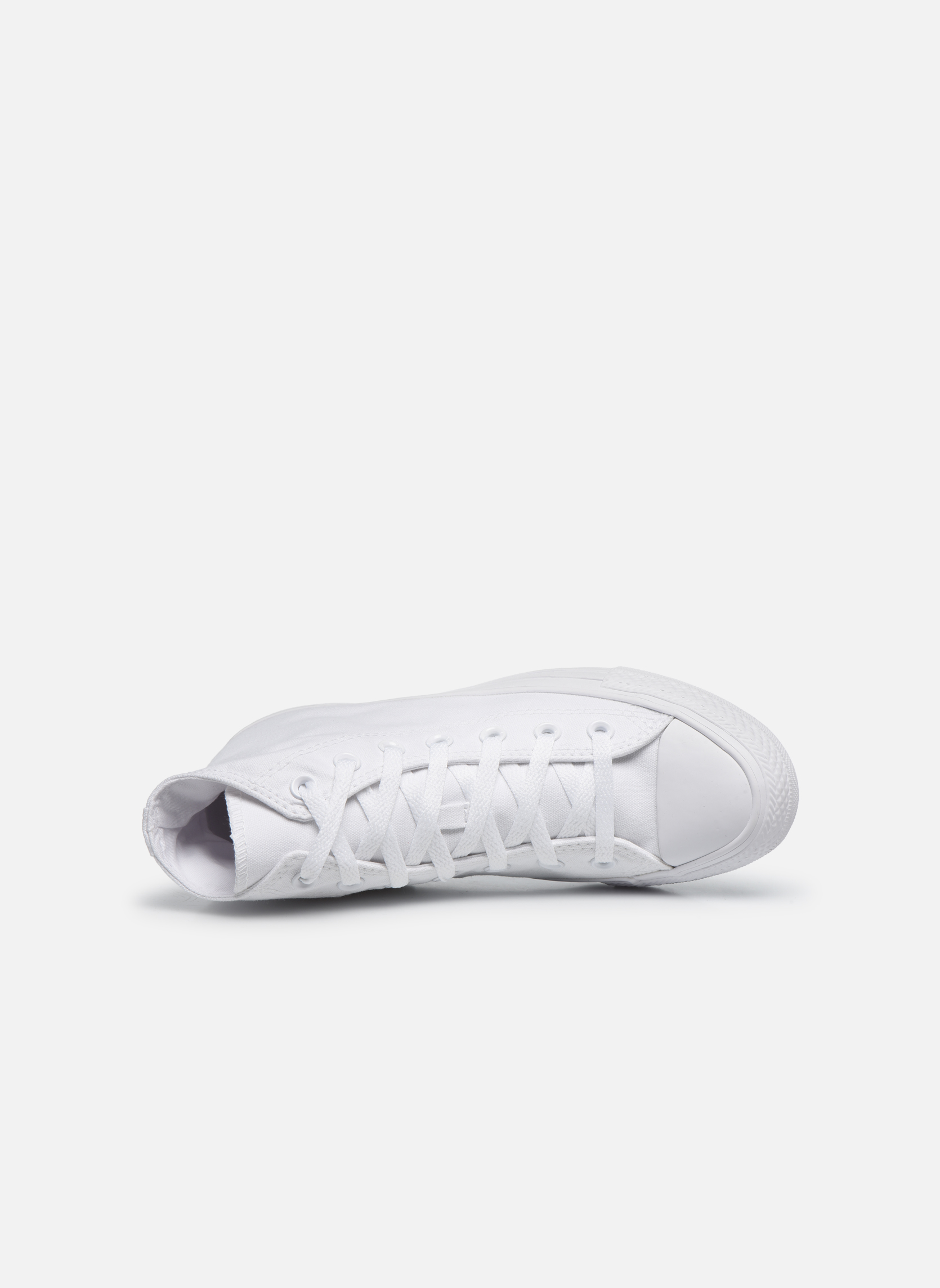 Chuck Taylor All Star Monochrome Canvas Hi W Blanc