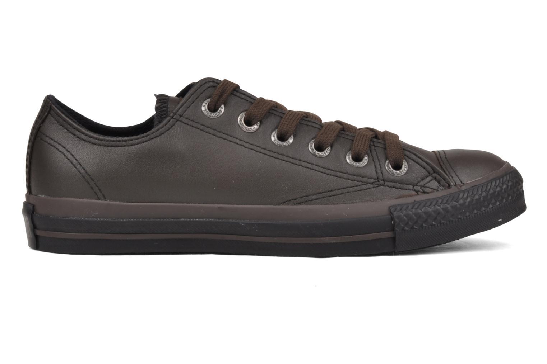 Baskets Converse Chuck Taylor All Star Soft Leather Ox W Noir vue derrière