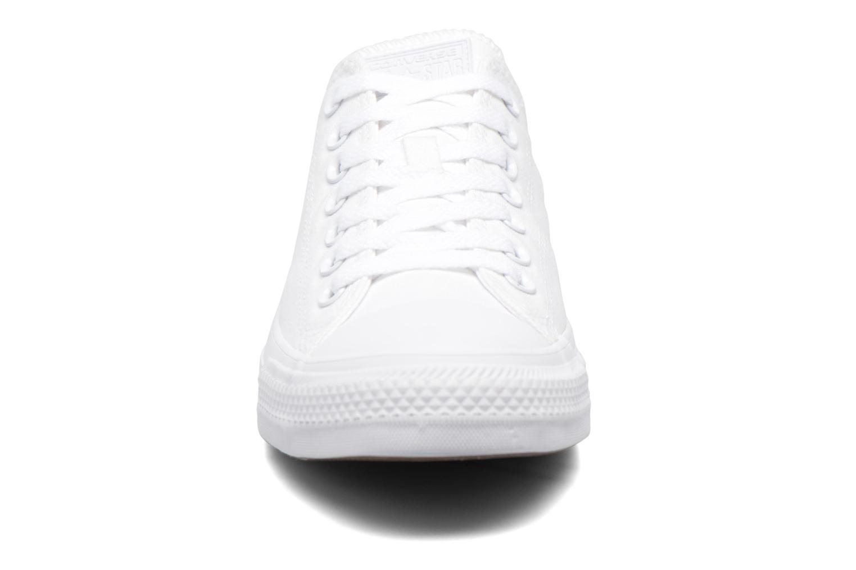 Sneaker Converse Chuck Taylor All Star Monochrome Canvas Ox M weiß schuhe getragen