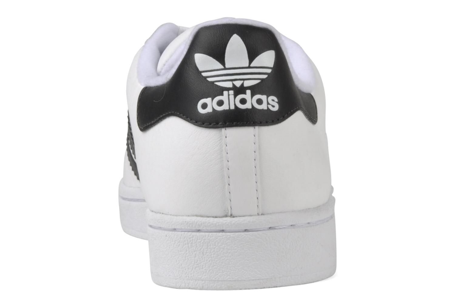 Baskets Adidas Originals Superstar II Blanc vue droite