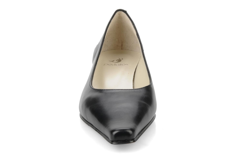 Escarpins Perlato Gina Noir vue portées chaussures