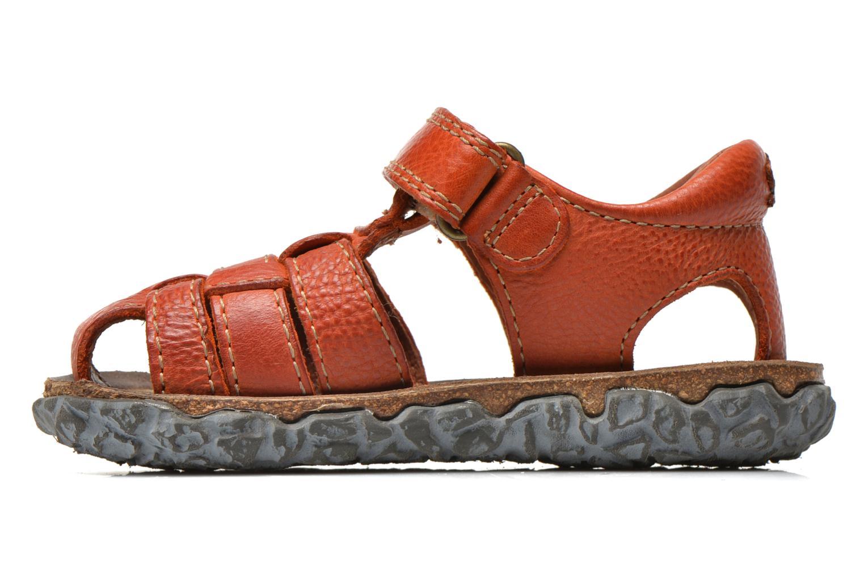 Sandals Stones and Bones Raxi Orange front view
