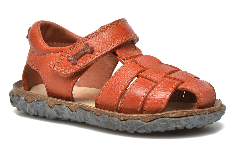 Sandals Stones and Bones Raxi Orange detailed view/ Pair view