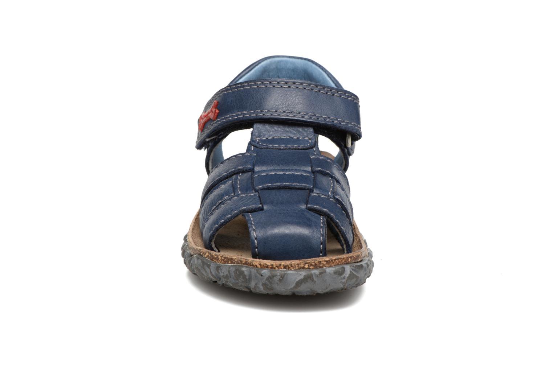 Sandales et nu-pieds Stones and Bones Raxi Bleu vue portées chaussures