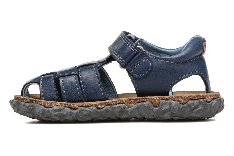 Sandals Stones and Bones Raxi Blue front view