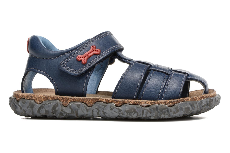 Sandals Stones and Bones Raxi Blue back view