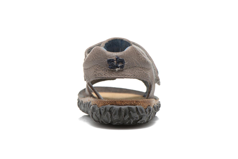 Sandaler Stones and Bones Ranco Grå Bild från höger sidan