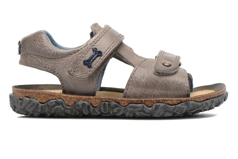 Sandales et nu-pieds Stones and Bones Ranco Gris vue derrière