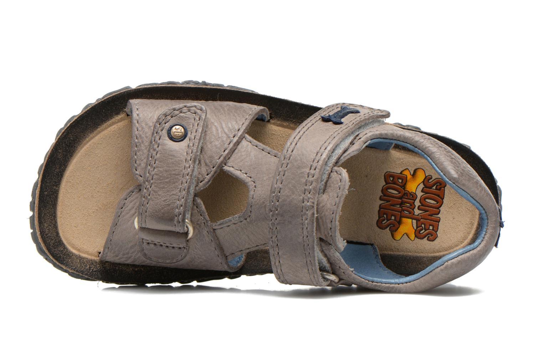 Sandales et nu-pieds Stones and Bones Ranco Gris vue gauche