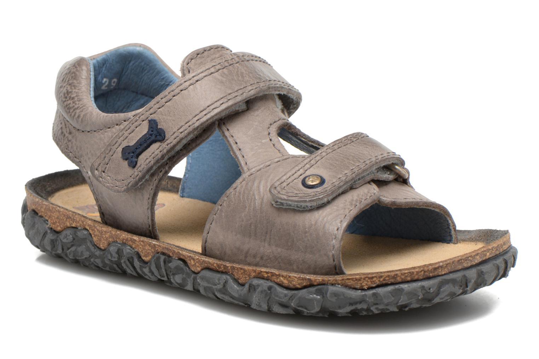 Sandales et nu-pieds Stones and Bones Ranco Gris vue détail/paire