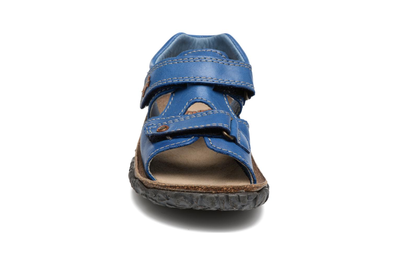 Sandali e scarpe aperte Stones and Bones Ranco Azzurro modello indossato