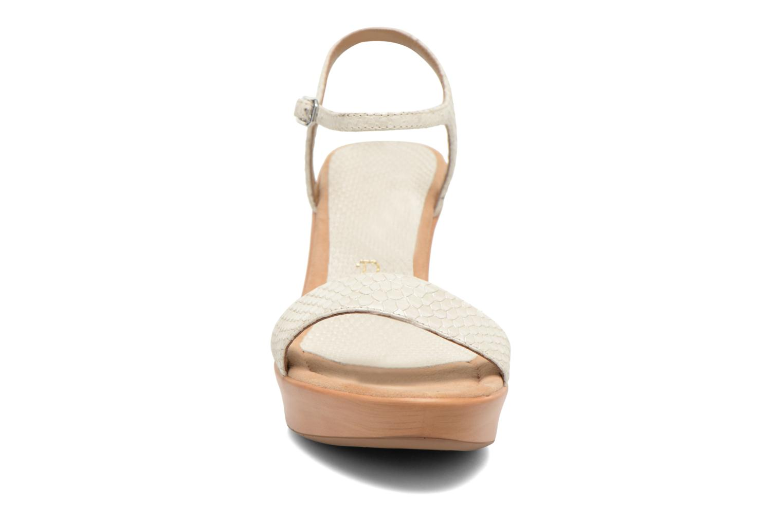 Sandalen Unisa Rita weiß schuhe getragen
