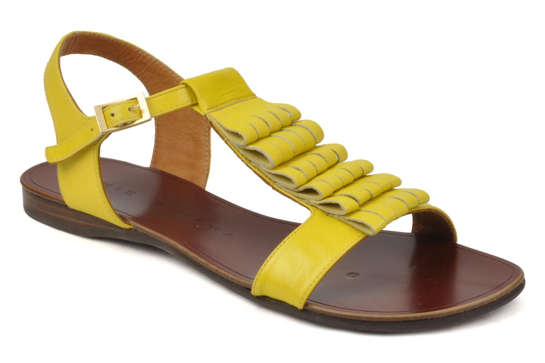 Sandales et nu-pieds Chie Mihara Marieta Jaune vue détail/paire