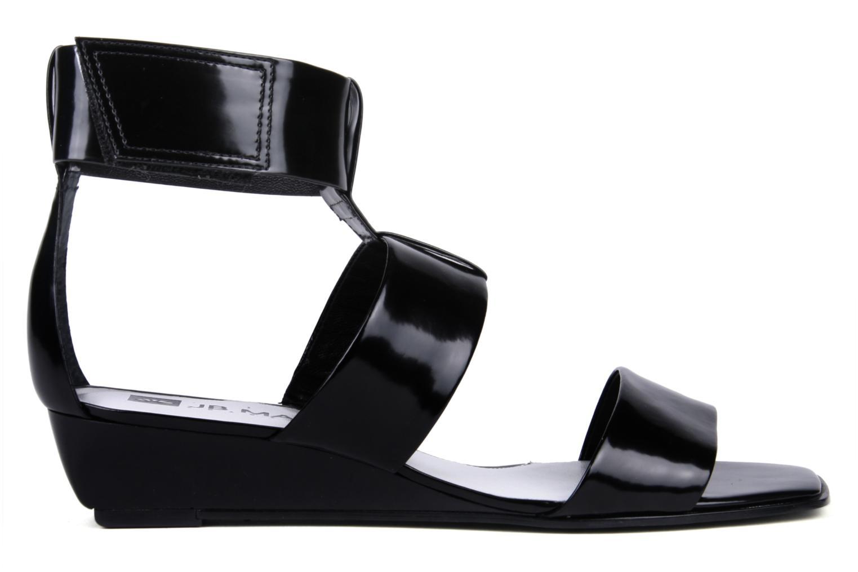 Sandales et nu-pieds JB MARTIN Indou Noir vue derrière