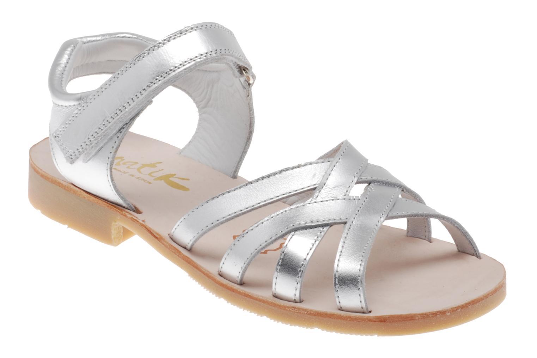 Sandales et nu-pieds Natik Natika 559 Argent vue détail/paire