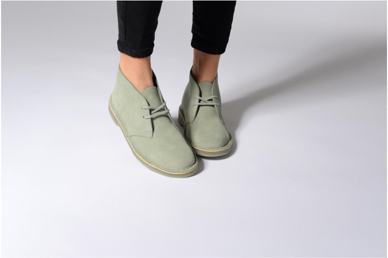 Desert Boot W Grey suede