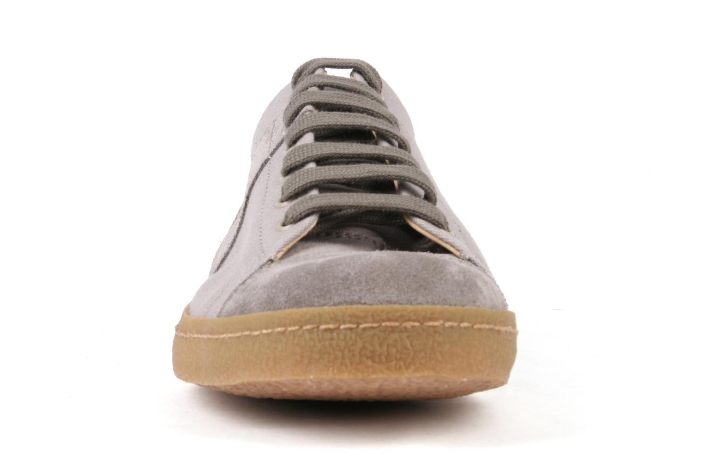 Baskets Bensimon Tennis Harrys F Gris vue portées chaussures