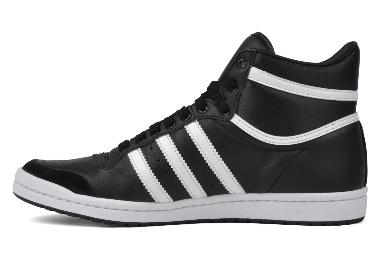 Baskets Adidas Originals Top Ten Hi Sleek Noir vue face