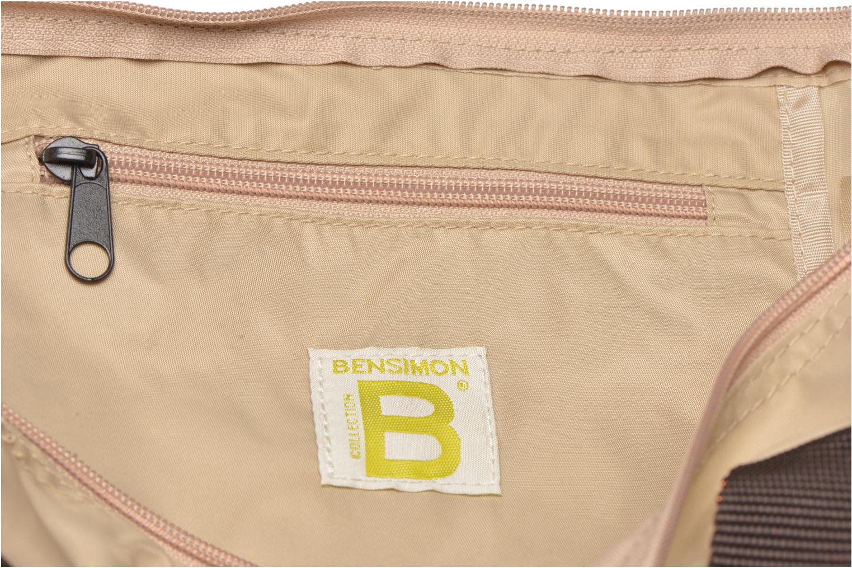 Sporttaschen Bensimon Color Bag beige ansicht von hinten