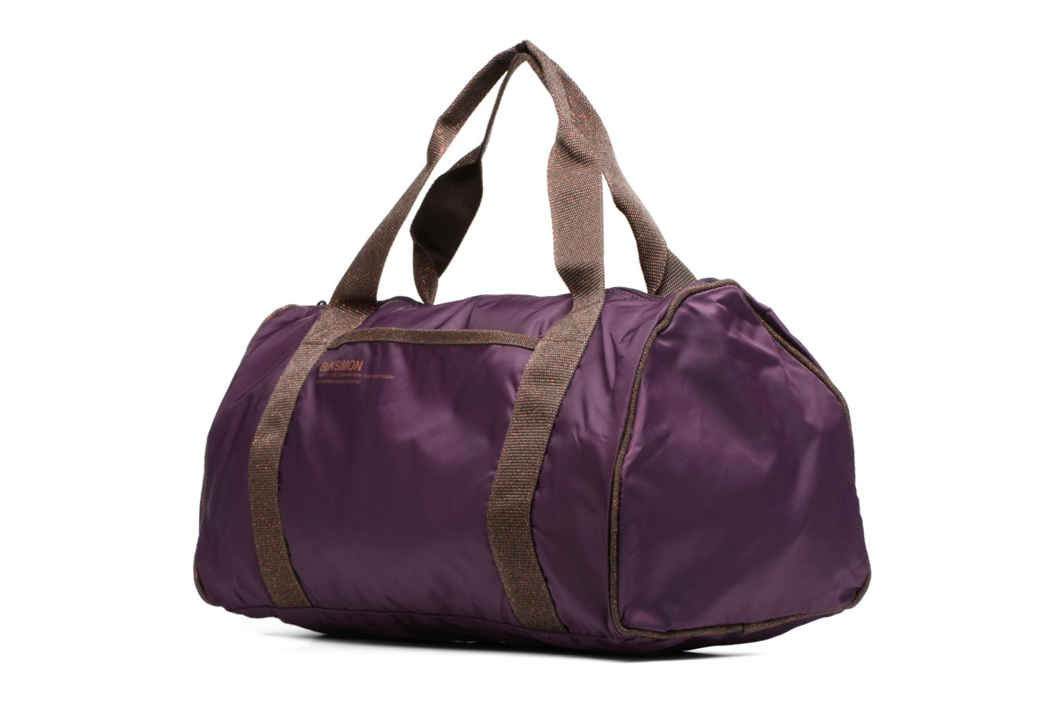 Sports bags Bensimon Color Bag Purple model view