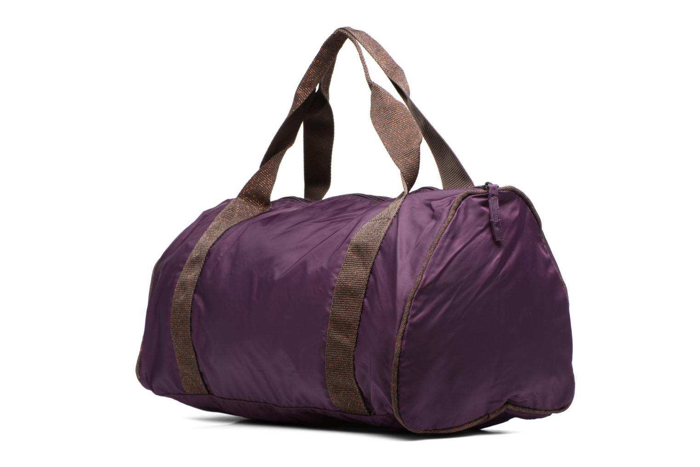 Sporttaschen Bensimon Color Bag lila ansicht von rechts