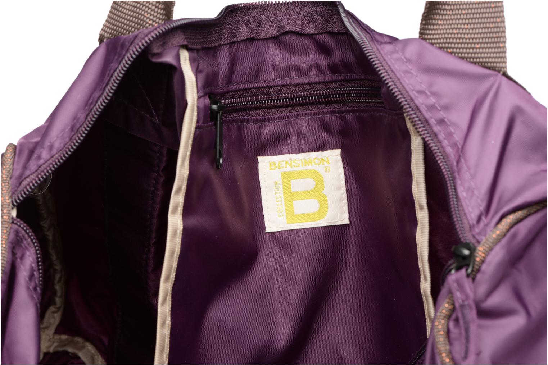 Sporttaschen Bensimon Color Bag lila ansicht von hinten