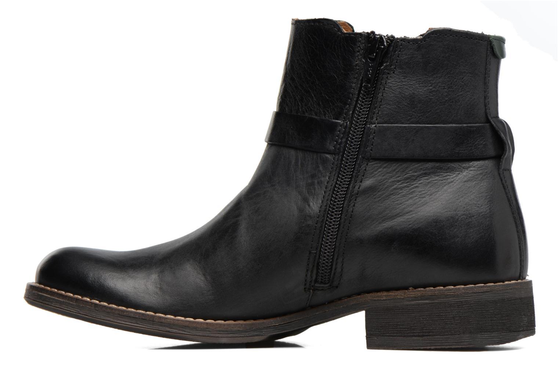 Boots en enkellaarsjes Kickers Smack Zwart voorkant