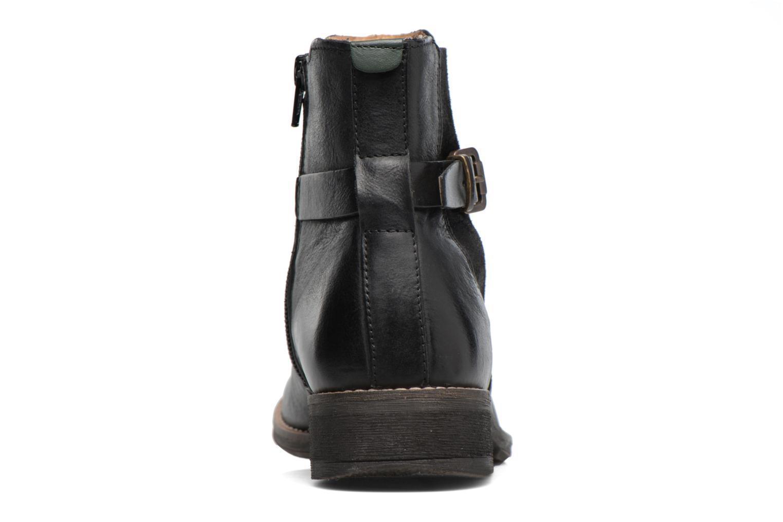 Bottines et boots Kickers Smack Noir vue droite