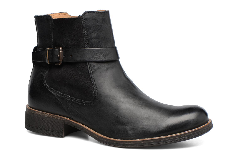 Bottines et boots Kickers Smack Noir vue détail/paire