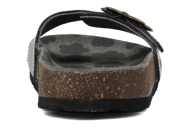 Sandales et nu-pieds Kickers Magma Noir vue droite